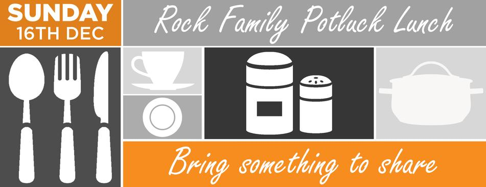 Rock Family Potluck Lunch