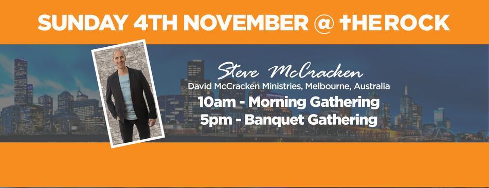 Steve McCracken - Nov Visit