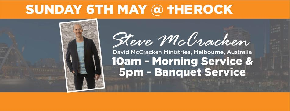 Steve McCracken - May Visit